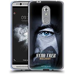 Produit officiel Star Trek Discovery personnage Posters doux Coque en gel pour ZTE téléphones, Gel, Gabriel Lorca, ZTE Axon 7 Mini