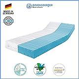 Ravensberger Matratzen® STRUKTURA-MED 60 | 7-Zonen Matratze HYLEX HR Kaltschaummatratze H3 RG 60...