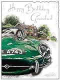 Geburtstagskarte Großvater, Rennwagen