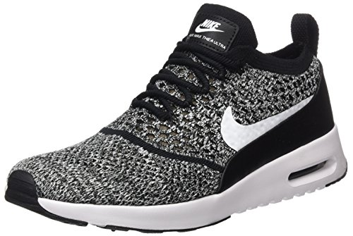 Nike Women Air Max Thea Ultra Flyknit Trainers, Black (Black/White), 6 UK...