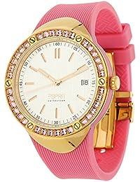 Esprit - EL101982F04 - Montre Femme - Quartz Analogique - Bracelet Plastique Rose