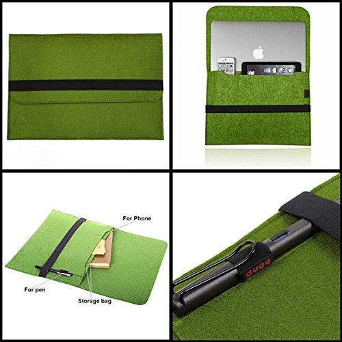 Buckdirect Worldwide ltd. Smart-Laptop-HŸlsen-Kasten-Abdeckung Beutel fŸr Macbook Pro Retina 13.3inch (4182 Notebook)