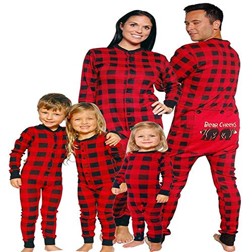 YOSSS Christmas Pajamas Family with Clothes Suits