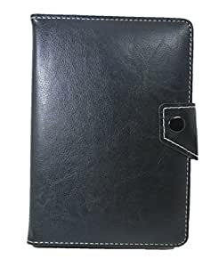 TOTTA Universal Tab Book Cover For Micromax Funbook 3G P600-BLACK