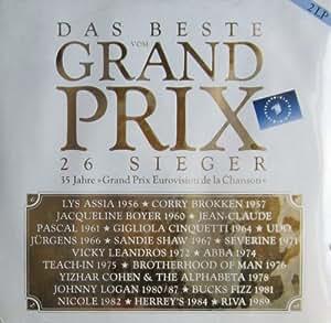 Grand Prix Eurovision Sieger