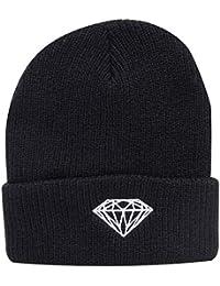 Diamond Supply Co Brilliant Fold Beanie Black