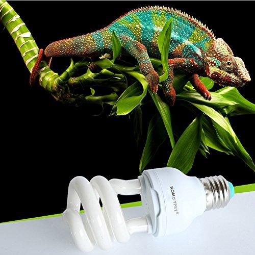 Amazingdeal365 Reptile 5.0 10.0 UVB 13W Kompaktleuchtstoffwüstenterrarien Lampen-Birnen (5)