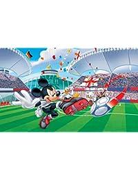 Tapeto Kids papel pintado fotográfico Disney Minnie y Mickey – Disney Mickey Mouse – Tamaño XS
