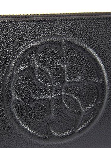 Guess - Portefeuille femme Amy taille 10 cm Noir