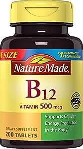 Nature Made Vitamin B-12 500 Mcg - 200 Tablets