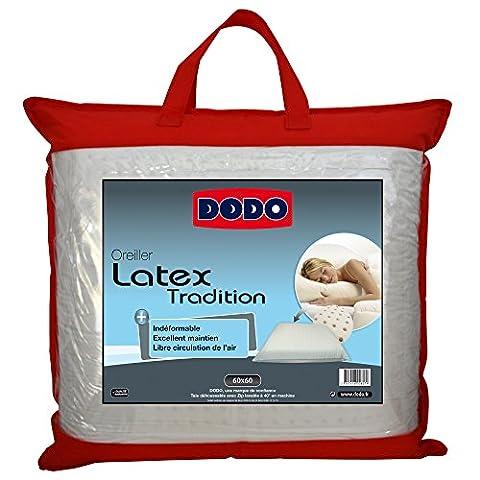 Dodo 60080.606 Oreiller Ergonomique Latex 60 cm x 60