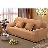 Anti-rutsch-sofa slipcover,Sofa möbel protector für hund Hohe elastizität Couch-abdeckung Volltonfarbe Schnittsofa werfen pad Für die ganze saison-L 3 Seater (75*90inch)