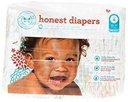 The Honest Company Diapers Size 4 - Balloons