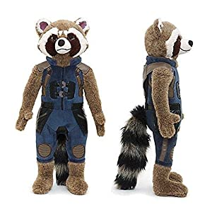 Official Disney Guardians Of The Galaxy Vol 43cm Rocket Racoon Soft Plush Toy