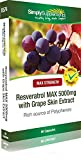 Resveratrol Max 5000mg | 60 Capsules | 100% money back guarantee | Manufactured in the UK