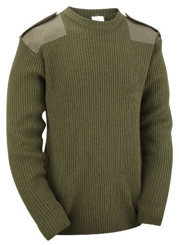 RTC Military / Security Commando Pullover - Olive, XL