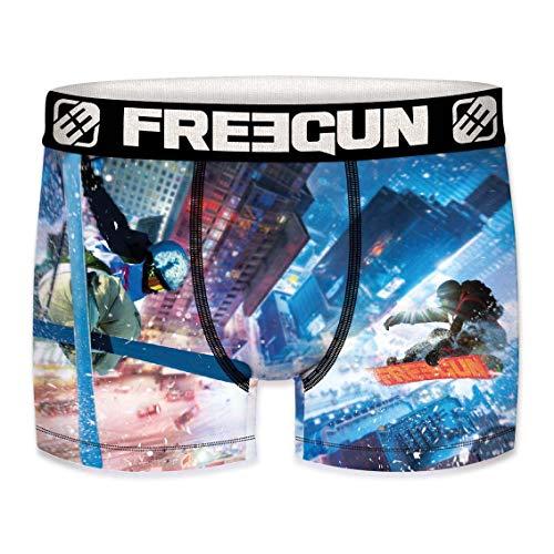 Freegun/-/Set di 3/boxer da uomo collezione