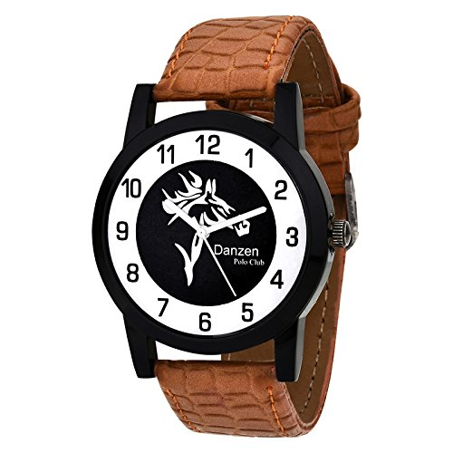 Danzen Polo Club wrist watch for mens DZ-485  available at amazon for Rs.299