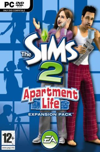 The Sims 2: Apartment Life Expansion Pack (PC DVD)