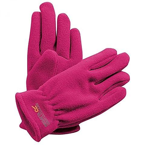 REGATTA Girls' Taz II Gloves, Pink, Age