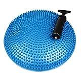 GAH-Alberts 140991 Ballsitzkissen, inkl. Luftpumpe - Kunststoff, blau, Durchmesser: 330 mm