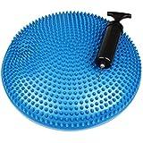 Gah-Alberts 140991Balle coussin d'assise avec pompe à air–Plastique, Bleu, Diamètre: 330mm