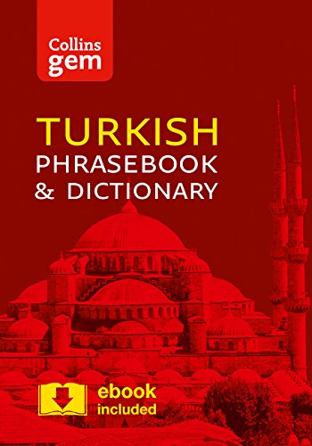 Collins Turkish Phrasebook and Dictionary Gem Edition: Essential Phrases and Words in a Mini, Travel-Sized Format (Collins Gem) (Türkisch-englisch-wörterbuch)