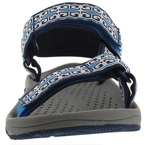 Teva Hurricane 3 W's Damen Sport- & Outdoor Sandalen Blau (Mini Denim Blue 511)