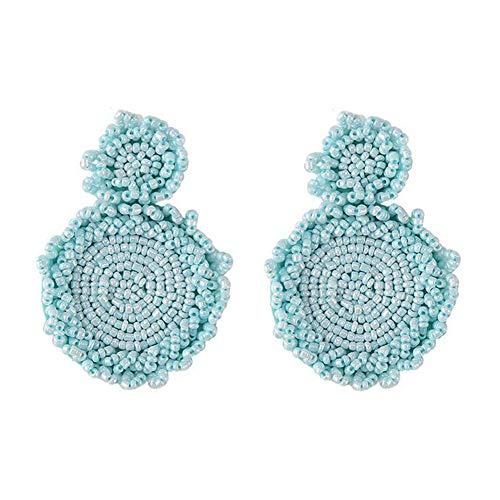Dxlts Ohrringe Für Frau Fashion Statement Ohrring Große Eardrop Kostüm Schmuck Bekleidungszubehör mit Geschenk,D