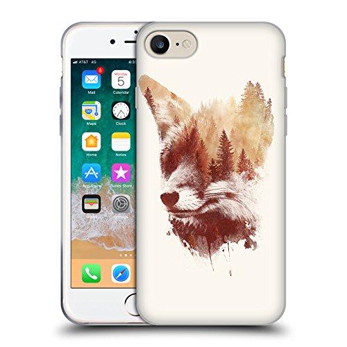 Offizielle Robert Farkas Blind Fuchs Fuchs 2 Soft Gel Hülle für Apple iPhone 7
