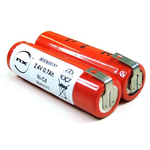 Preisvergleich Produktbild VDI - Akku NiCd AA Elektrorasierer 2.4V 700mAh