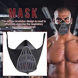 Eillybird Dustproof Mask Sports Exercise Facial Mask For Aerobics Training Mask Height Sports Masks