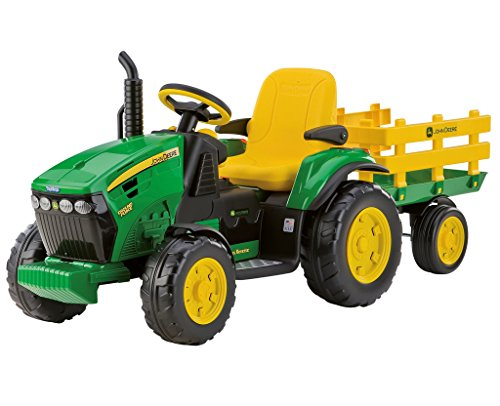 *Peg Perego John Deere Ground Force inkl. Anhänger 12V IGOR0047*