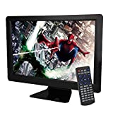 NS-1548 15,6-Zoll-LCD-Display HD LED TV Digital Multimedia tragbar mit EVD-Player, TV-Halterung und VGA und HDMI und AV und MP3 / CD-Kopie + Kartenleser + FM (nur EU-Stecker)