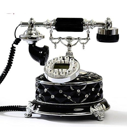 TELEFONOS ANTIGUOS CREATIVOS / TELEFONO DE SU CASA-VERSION NEGRO 3