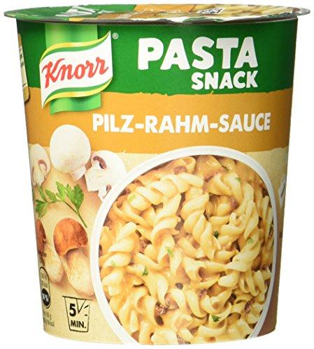 Knorr Pasta Snack Pilz-Rahm-Sauce, 1 Portion, 70 g