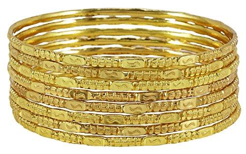 Matra placcato oro 18k abbigliamento di grandi firme 12 pz braccialetto churi insieme del partito bracciali gioielli 2 * 8
