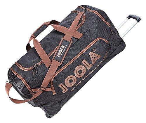 Preisvergleich Produktbild JOOLA Rollbag Tasche,  Schwarz-Braun,  80 x 42 x 36 cm