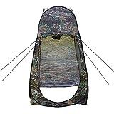 WRF Outdoor-Badekonto, tragbares mobiles Outdoor-Einzelzelt, großes Kontodesign, geeignet für Outdoor-Sportarten/Angeln/Camping (Nebel)