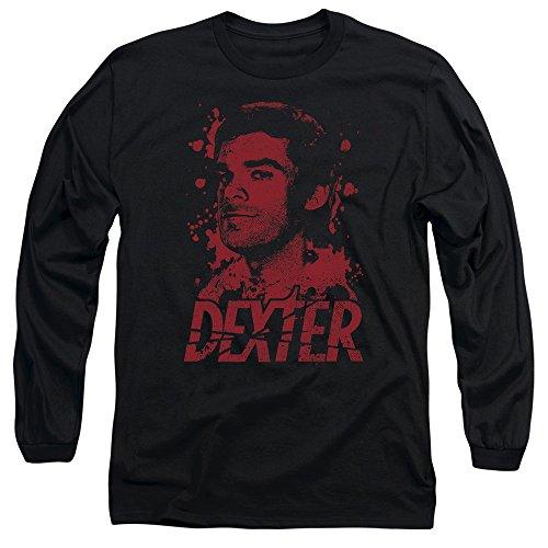 Dexter - Herren-Born In Blood Long Sleeve T-Shirt Black