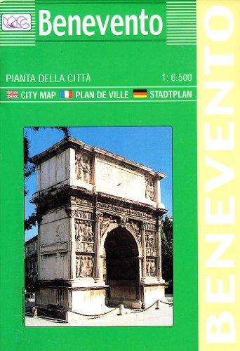 Benevento. Pianta della città 1:6.500 (Carte stradali) por Litografia Artistica Cartografica (LAC)