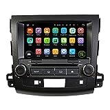 Android 8.0Octa Core Auto Radio Radio DVD GPS navegación Reproductor multimedia estéreo de coche para Mitsubishi Outlander 2006200720082009201020112012compatible con 3G WiFi Bluetooth de control de volante libre 8G tarjeta SD (pulgadas)