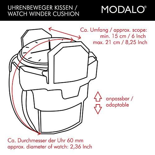 Modalo Clasico MV3 Uhrenbeweger für 3 Automatikuhren in schwarz 3303113 - 6