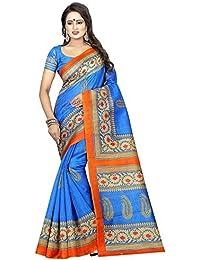 Sarees For Women Sarees New Collection Sarees For Women Latest Design Printed Cotton Blended Kalamkari Art Silk...