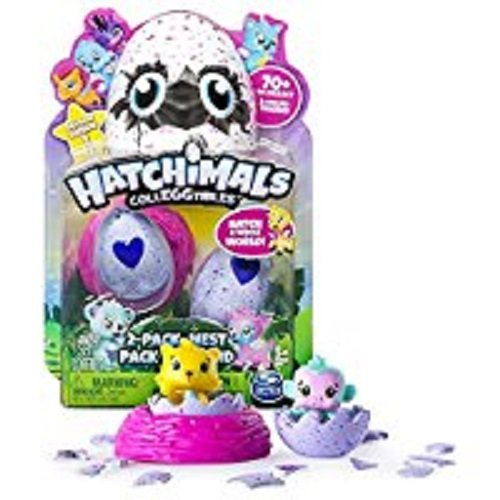 """Hatchimals 6034164 """"Colleggtibles with Nest Playset (Pack of 2)"""