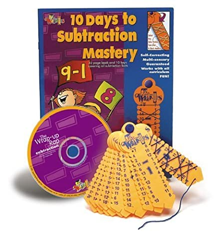 Subtract Mastery Kit w/CD by Learning Wrap-Ups TOY (English Manual)