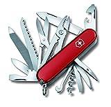 Victorinox Huntsman 1.3713 - Cuchillo navaja con 9 funciones, Rojo