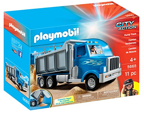 PLAYMOBIL 5665 Le camion de chantier Américain