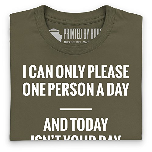 Today Isn't Your Day T-Shirt, Herren Olivgrn