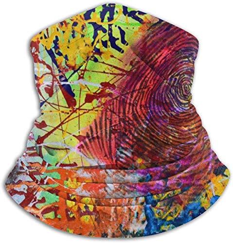 CVDGSAD Vlies-Ansatz-Maske, indische Sprache druckt im Freien Knit Headwear-Wolle-Schnee-Ski-Kappen-Gesichtsmaske, für Männer